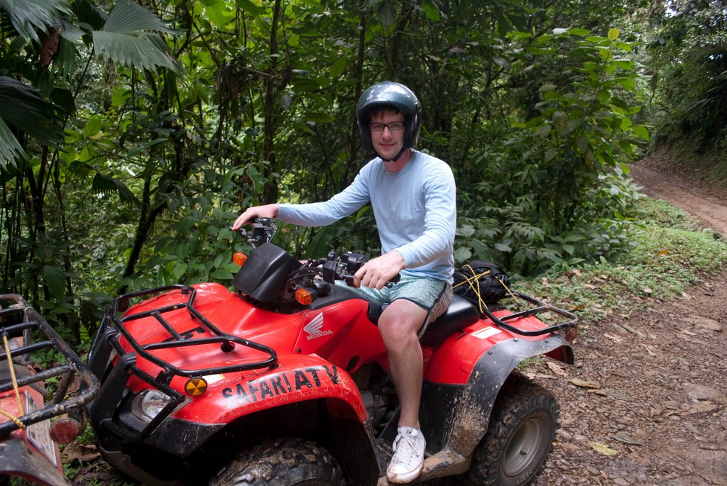 ATV trek in small groups is a fun activity and perfectly combined with a beach visit