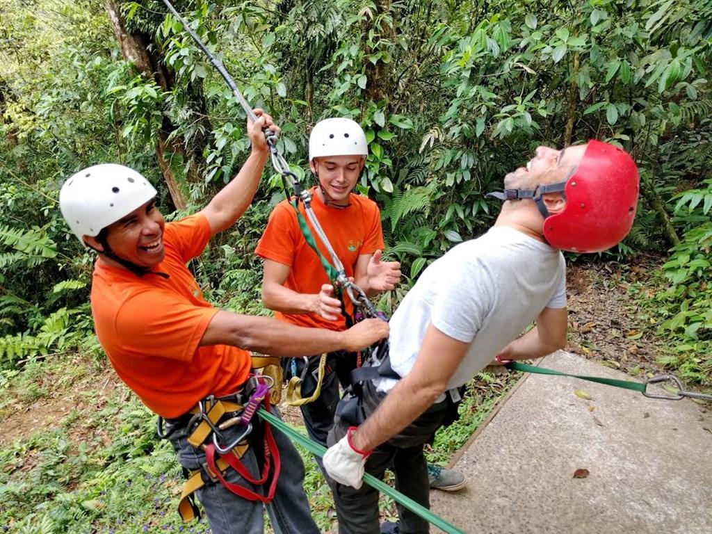 Zipline fun in Costa Rica!