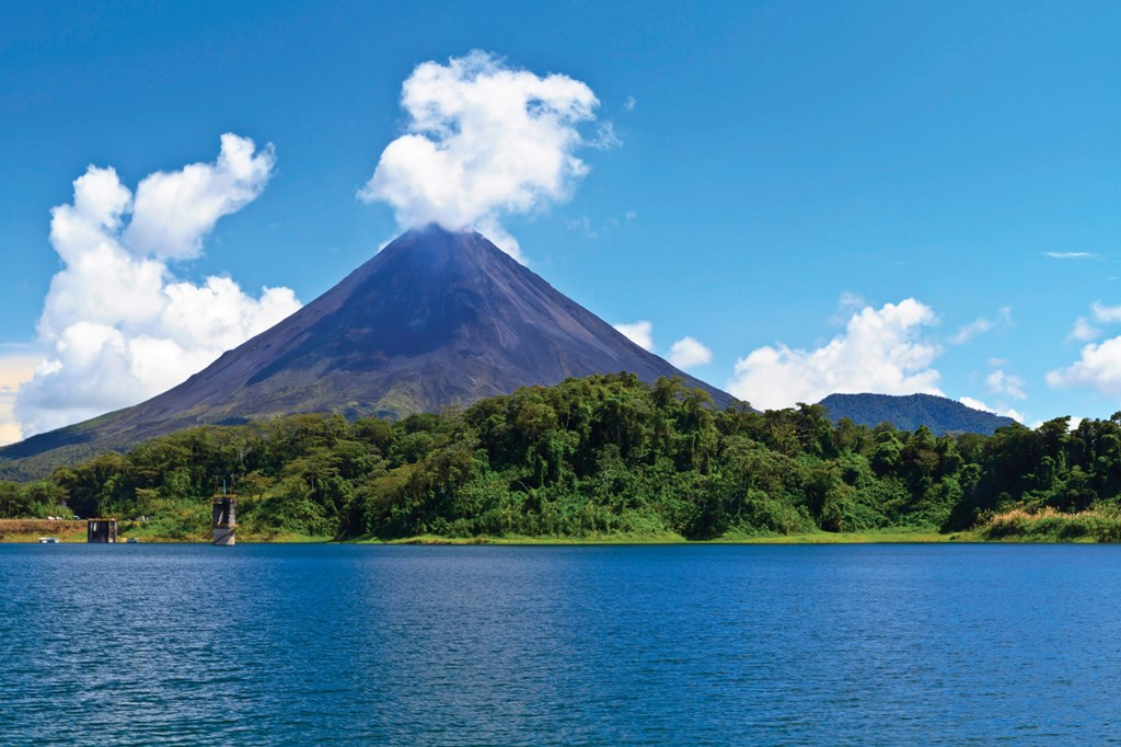 Arenal is a famous volcano. And Parklands driver can take you there and back in one day.